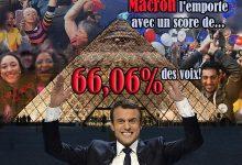 Macron président!